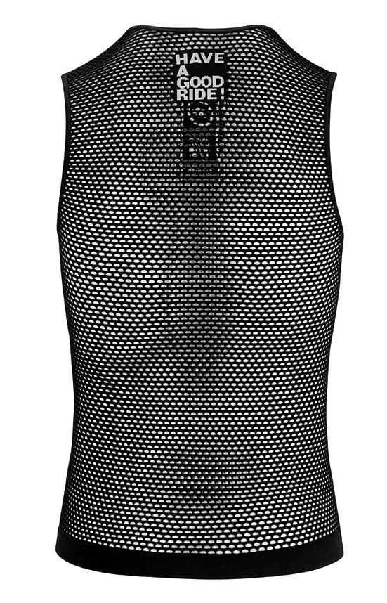 Assos Skinfoil NS Mesh Men/'s Cycling Sleeveless Baselayer Size II L//XL White