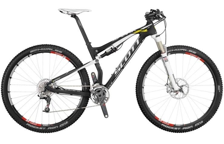 Bicicletta Scott Spark Rc 900 Pro