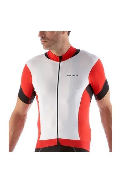 6862fde4ddc7 Giordana Forma Red Carbon Short Sleeve Jersey