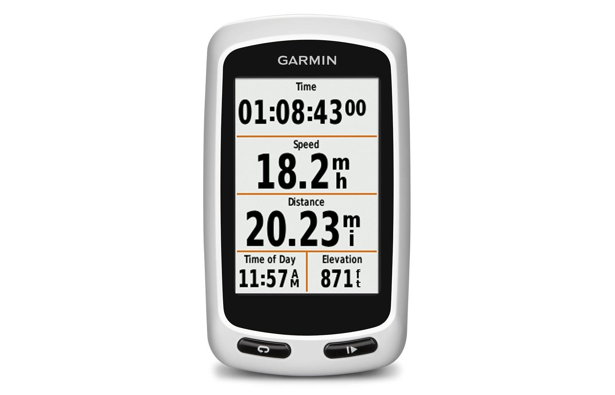 Garmin Cycle Computer >> Garmin Edge Touring Cycling Computer