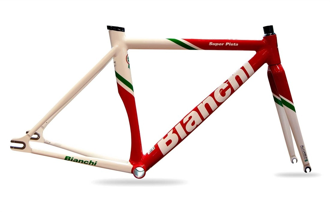 2012 Bianchi Super Pista 150th Anniversary Frameset | R&A Cycles