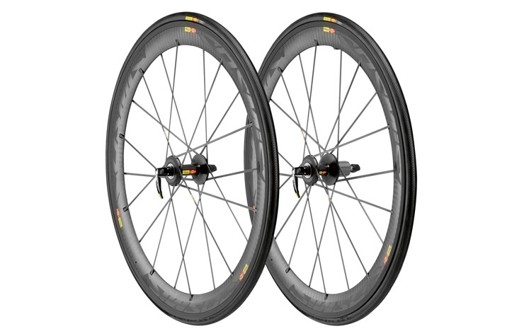 good texture details for hot product Mavic Cosmic Carbone SLR Clincher Wheelset