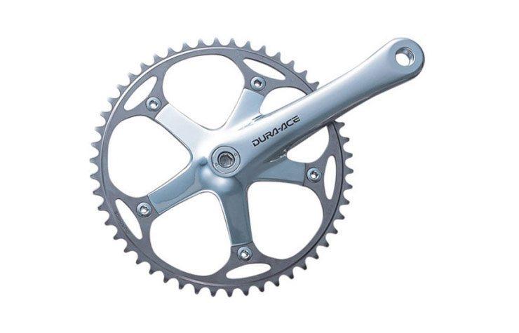 28ae7e6fa95 Shimano Dura-Ace FC-7710 Track Crank | R&A Cycles