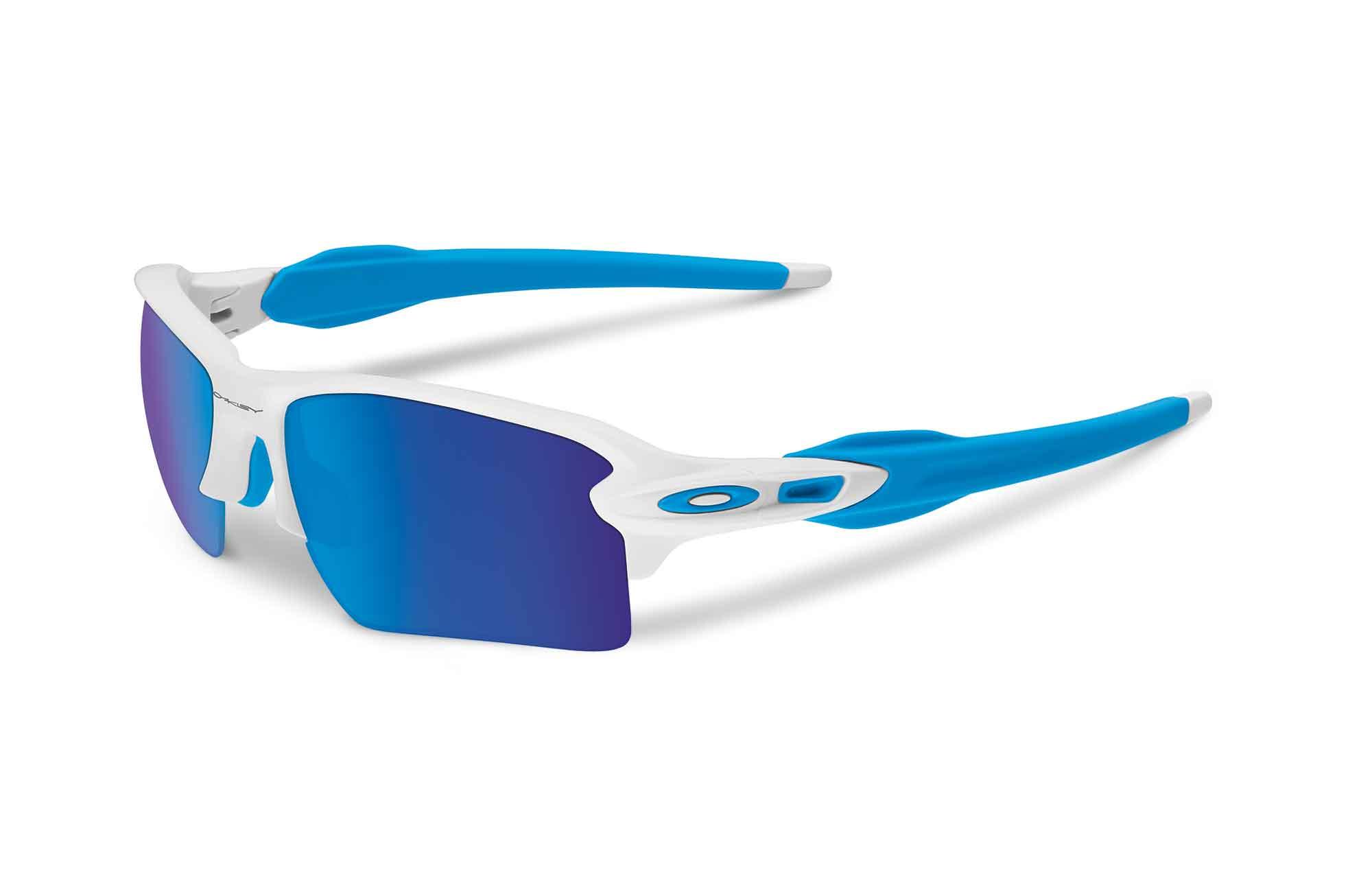oakley flak blue