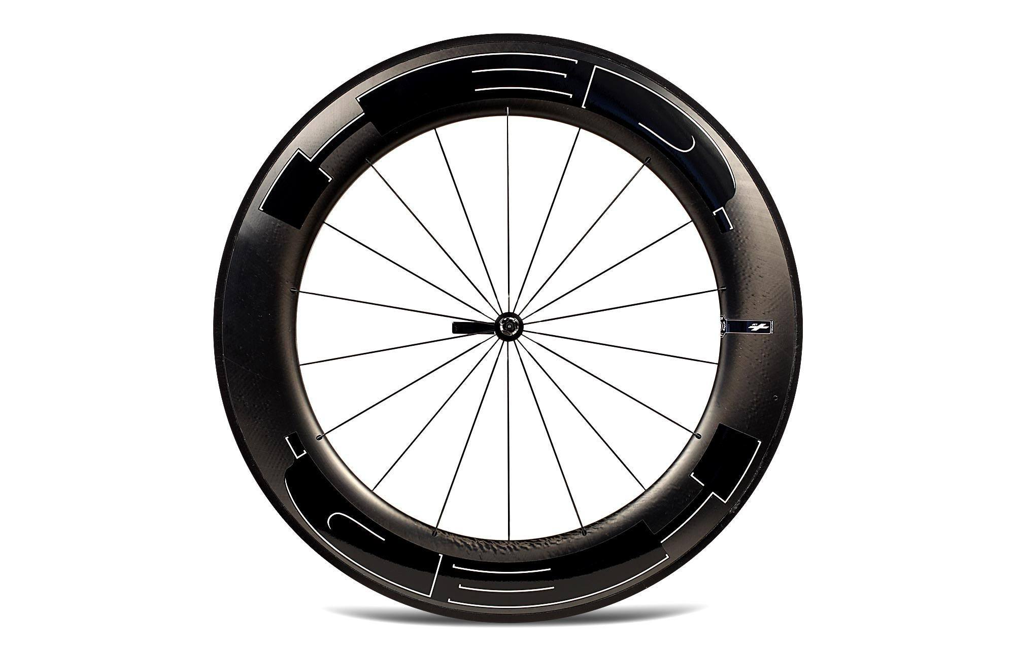 Hed Jet 9 Black Clincher Rear Wheel R Amp A Cycles