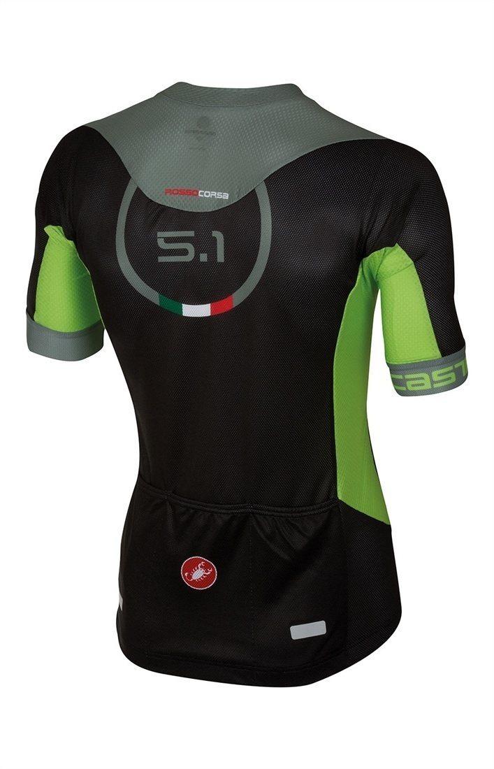 0389b47e1 Castelli Aero Race 5.1 Short Sleeve Jersey FZ