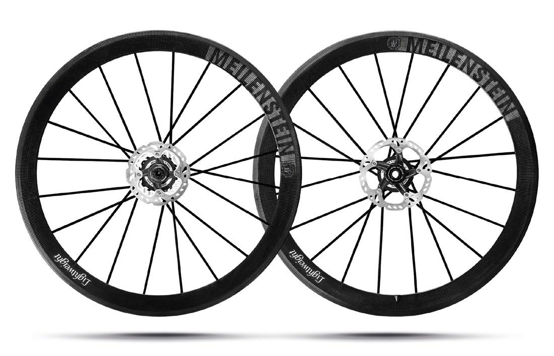 Lightweight Meilenstein Clincher Disc Wheelset