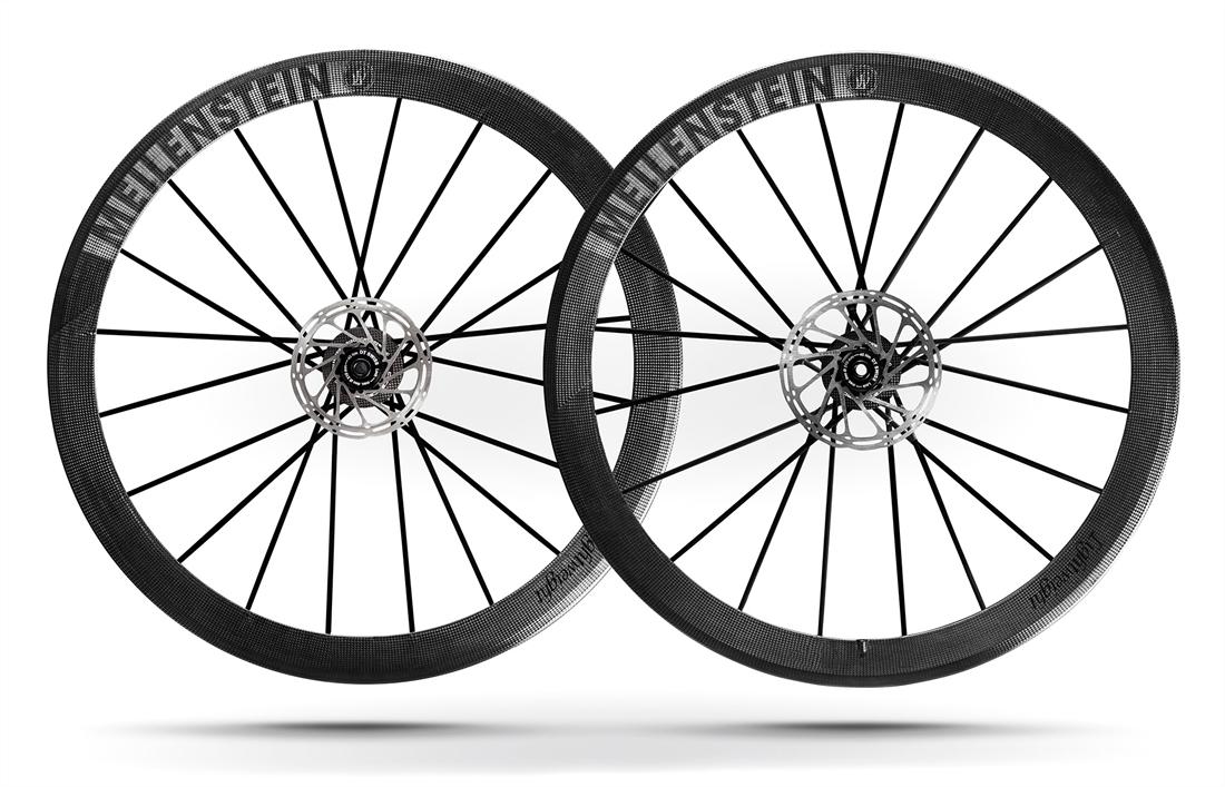 Lightweight Meilenstein Schwarz Clincher Disc Wheelset
