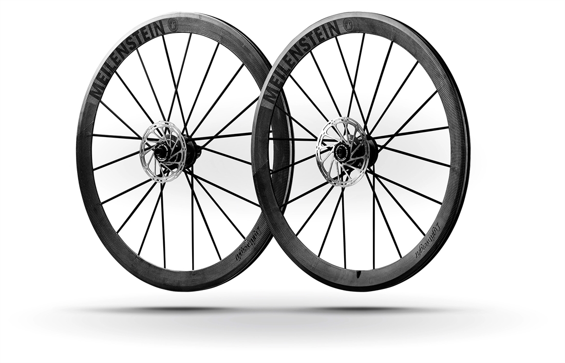 5abfce8cd5b Lightweight Meilenstein Schwarz Clincher Disc Wheelset