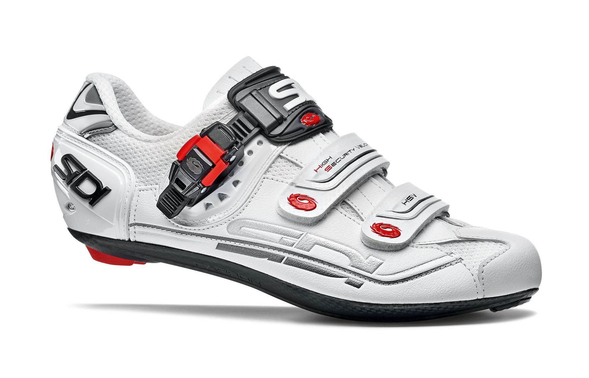 SIDI Shoes Genius 7 44.5 White Shadow Blk Liner Scape Cycling Man