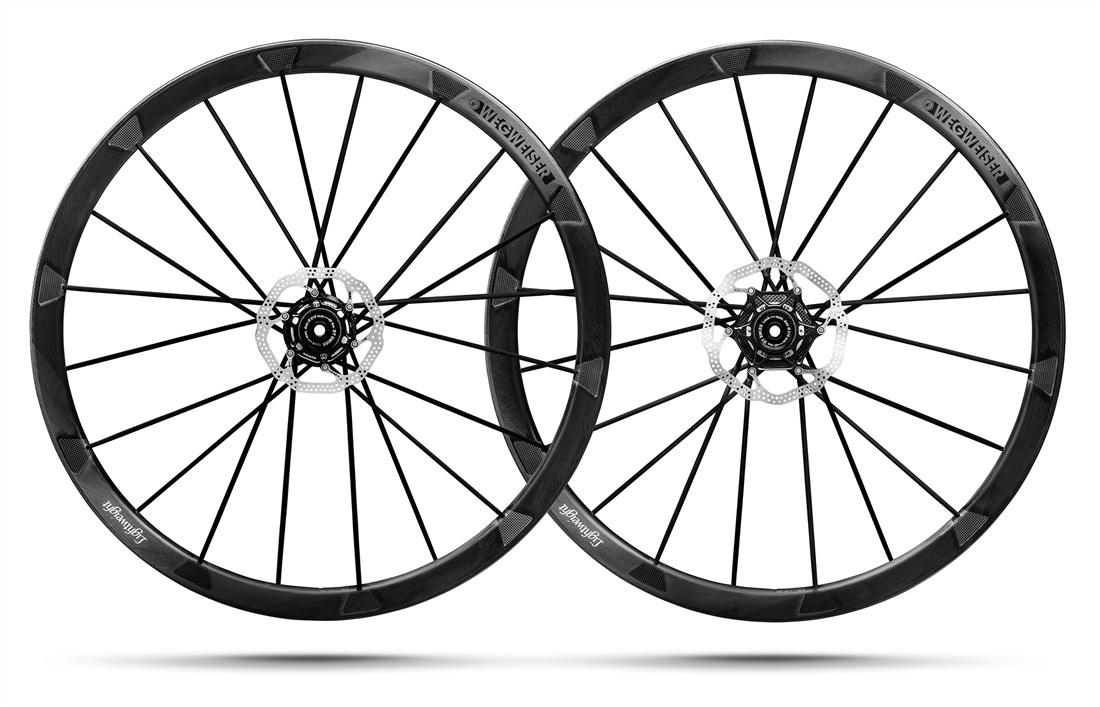 Lightweight Wegweiser Clincher Disc Wheelset