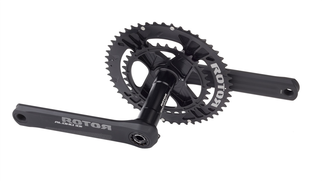 1fbebf0a0e0 Rotor Aldhu Crankset with Q-Spiderings | R&A Cycles