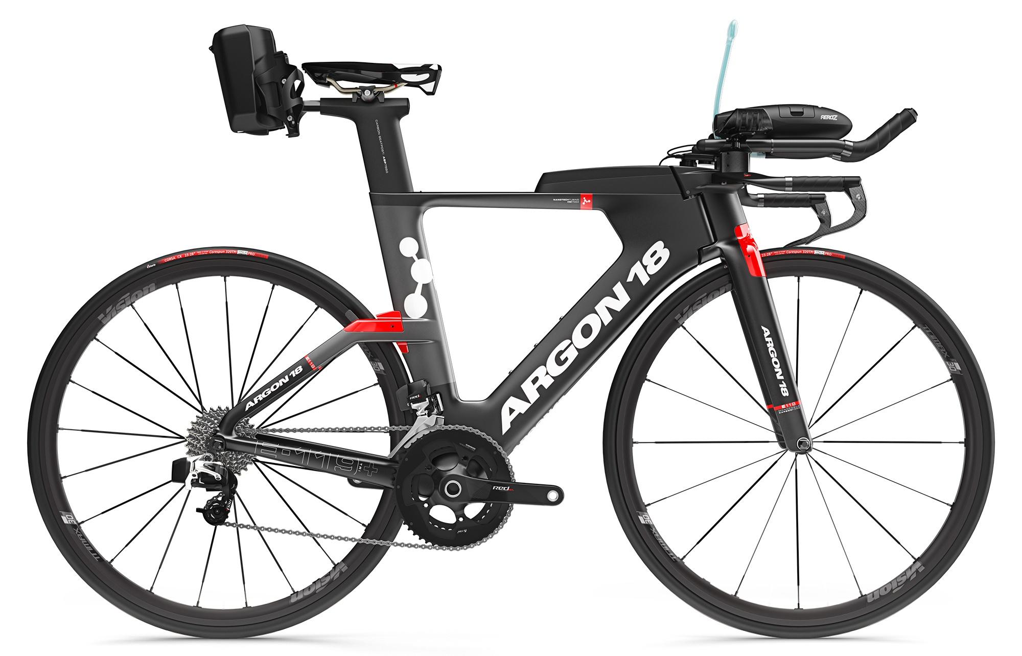86070b78f5f 2018 Argon 18 E-119 Tri+ eTap Bike | R&A Cycles