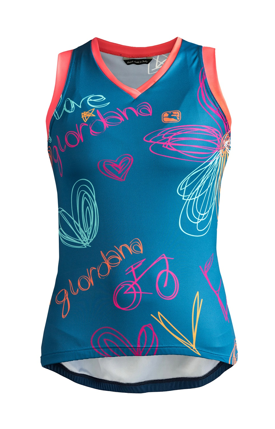 Giordana Arts Love Sleeveless Jersey Ra Cycles Nama
