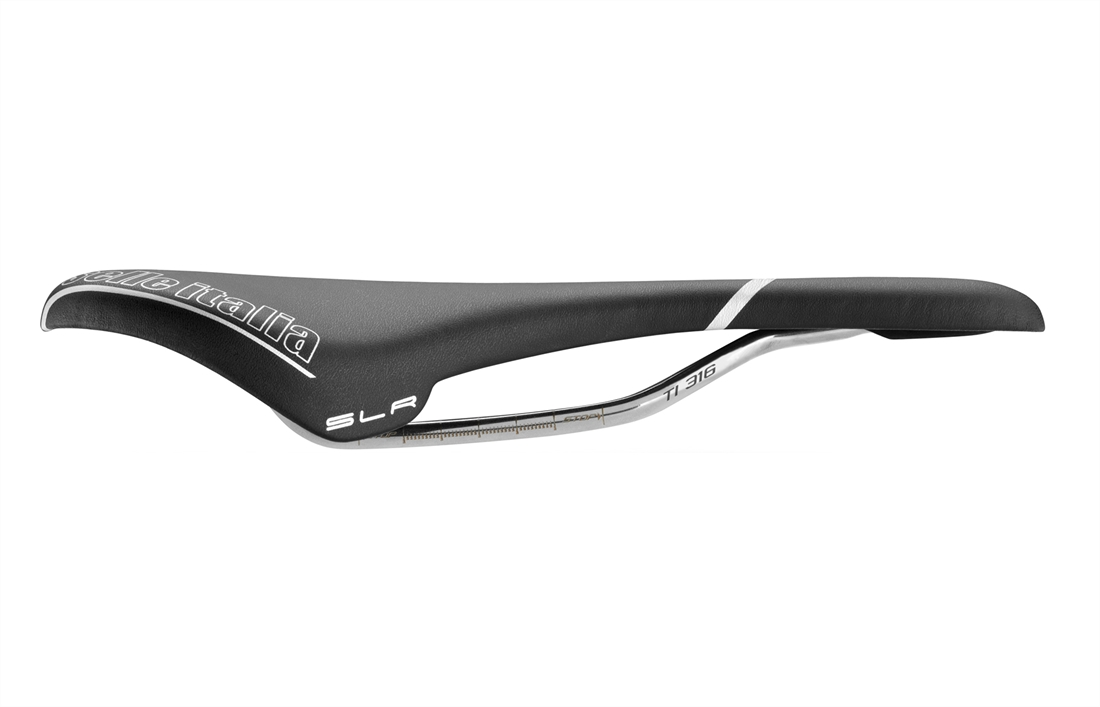 Selle Italia Colnago SLR Saddle Titanium Rails Black 134 x 275 mm 185 g 896897