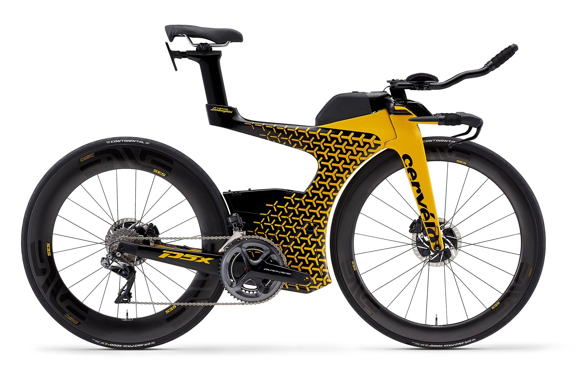 Cervelo P5X Lamborghini Edition Bike