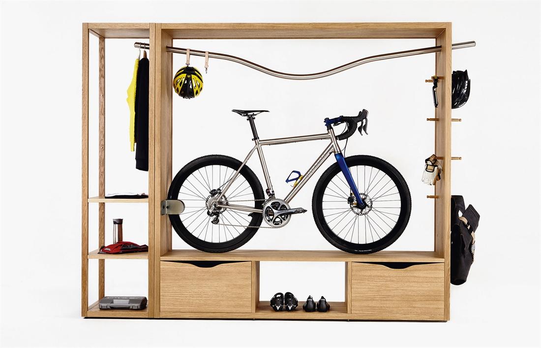 Vadolibero Domus Bike Decor - Oak Natural