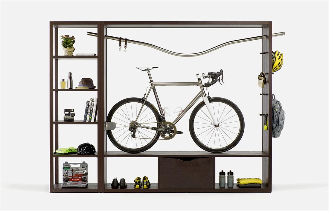 Vadolibero Domus Bike Decor - Oak Brown